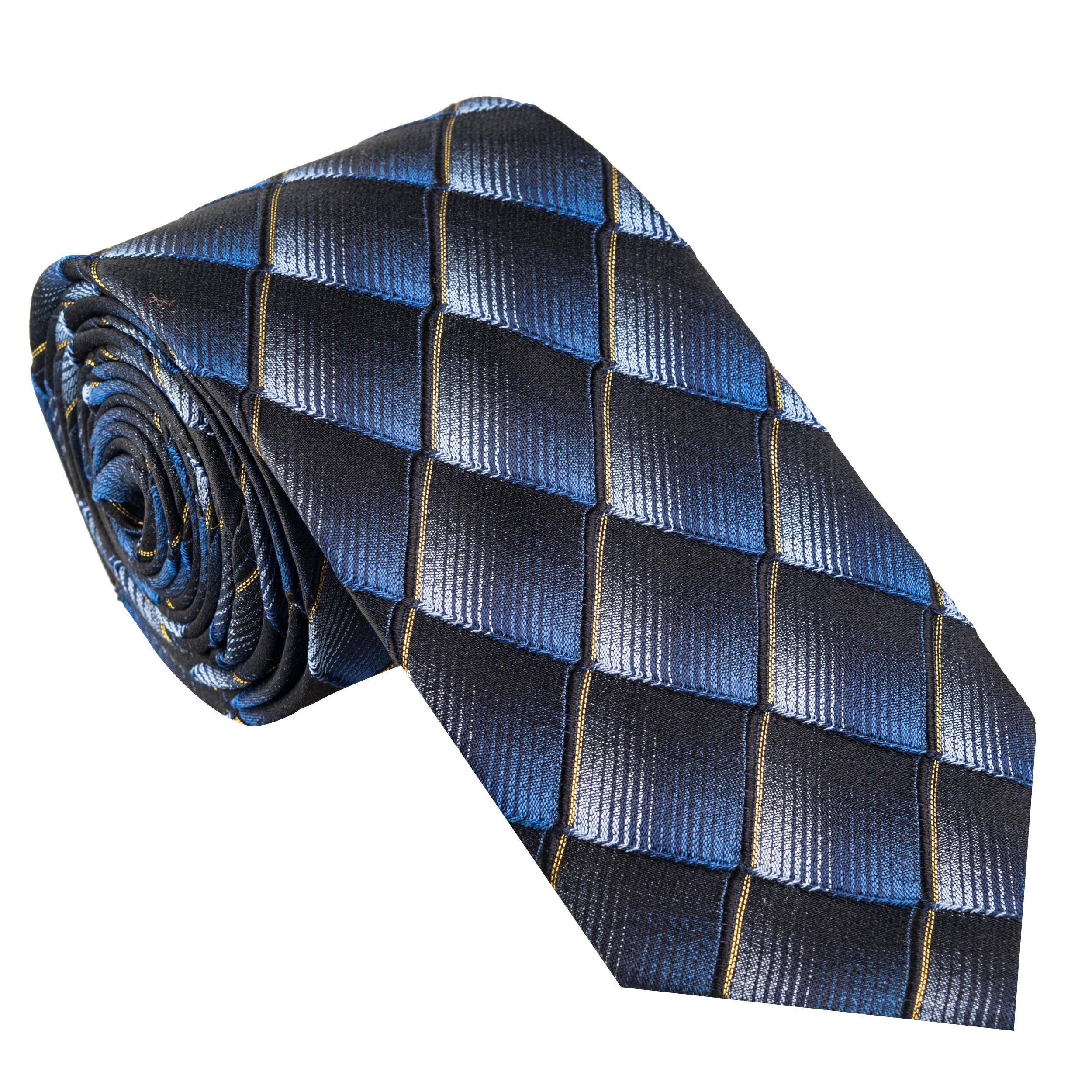 کراوات مردانه جیان فرانکو روسی مدل GF-PO511-DB
