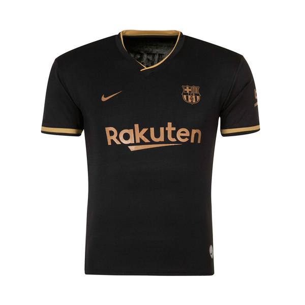 تی شرت ورزشی پسرانه طرح تیم بارسلونا مدل 2-2021