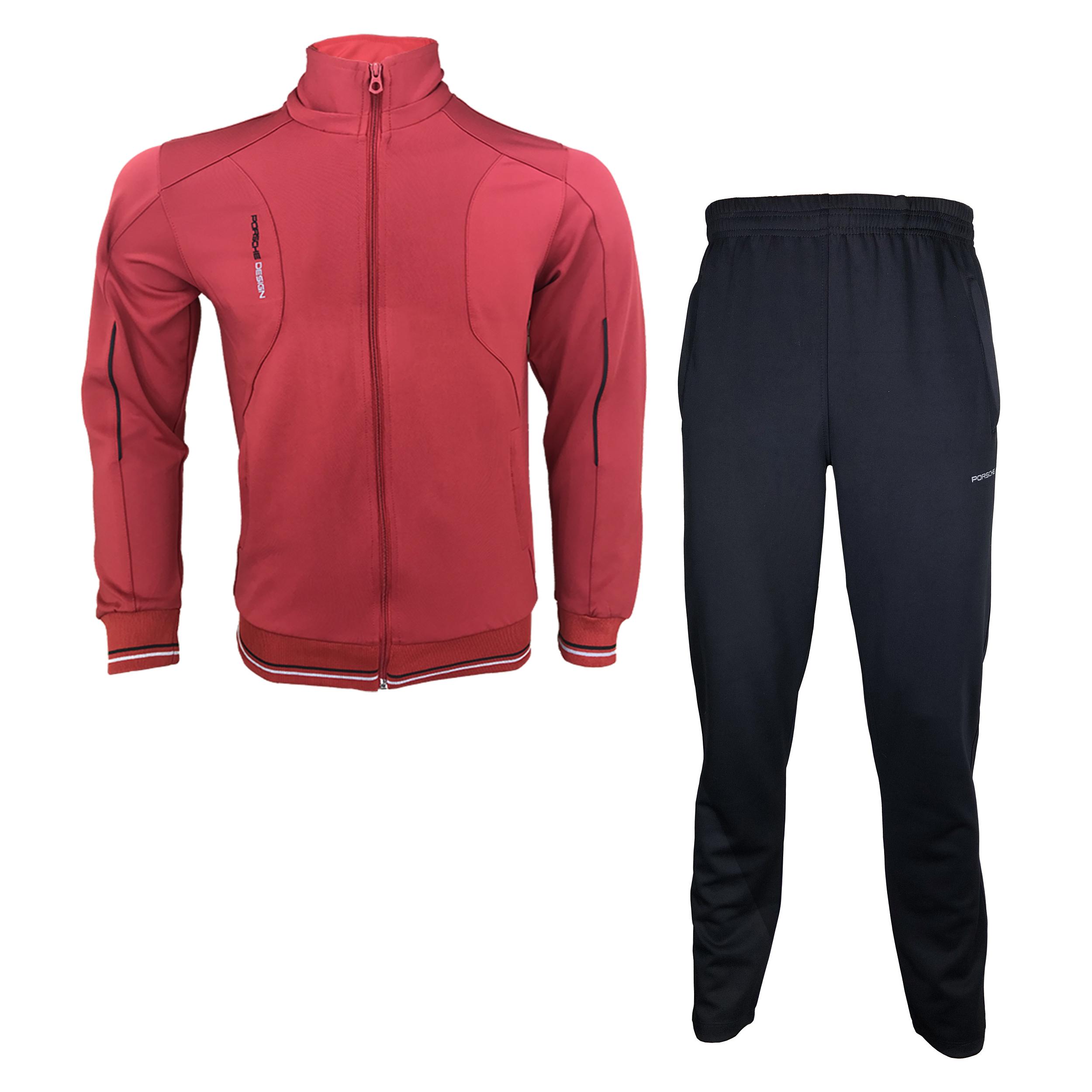 ست گرمکن و شلوار ورزشی مردانه مدل P-R06