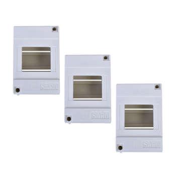 جعبه فیوز روکار سارو مدل 3F بسته سه عددی