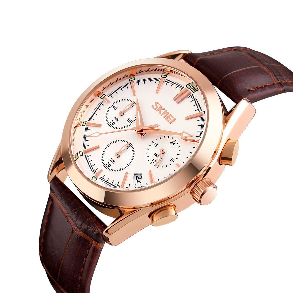 ساعت مچی عقربه ای مردانه اسکمی مدل 9127W-NP -  - 3