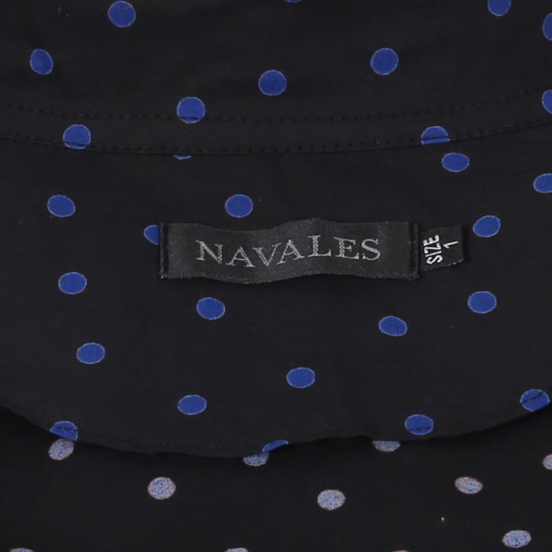 شومیز زنانه ناوالس کد Dots01-BL