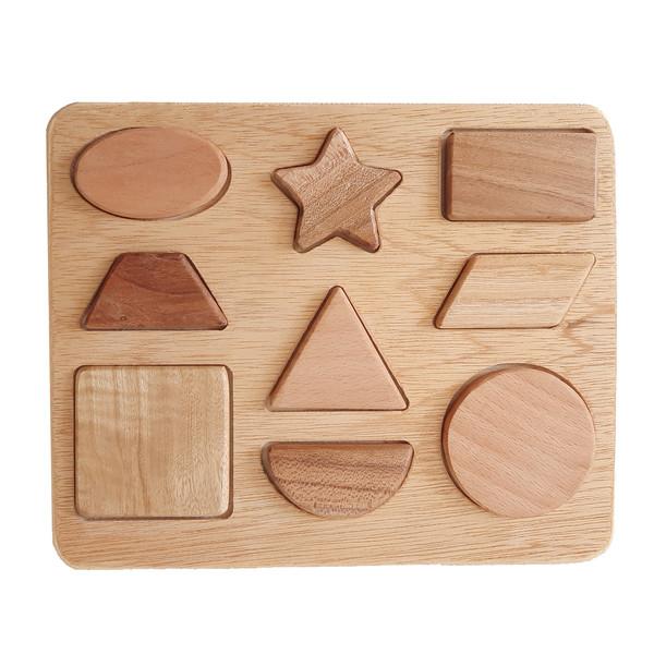 اسباب بازی چوبی طرح اشکال کد ۹۹