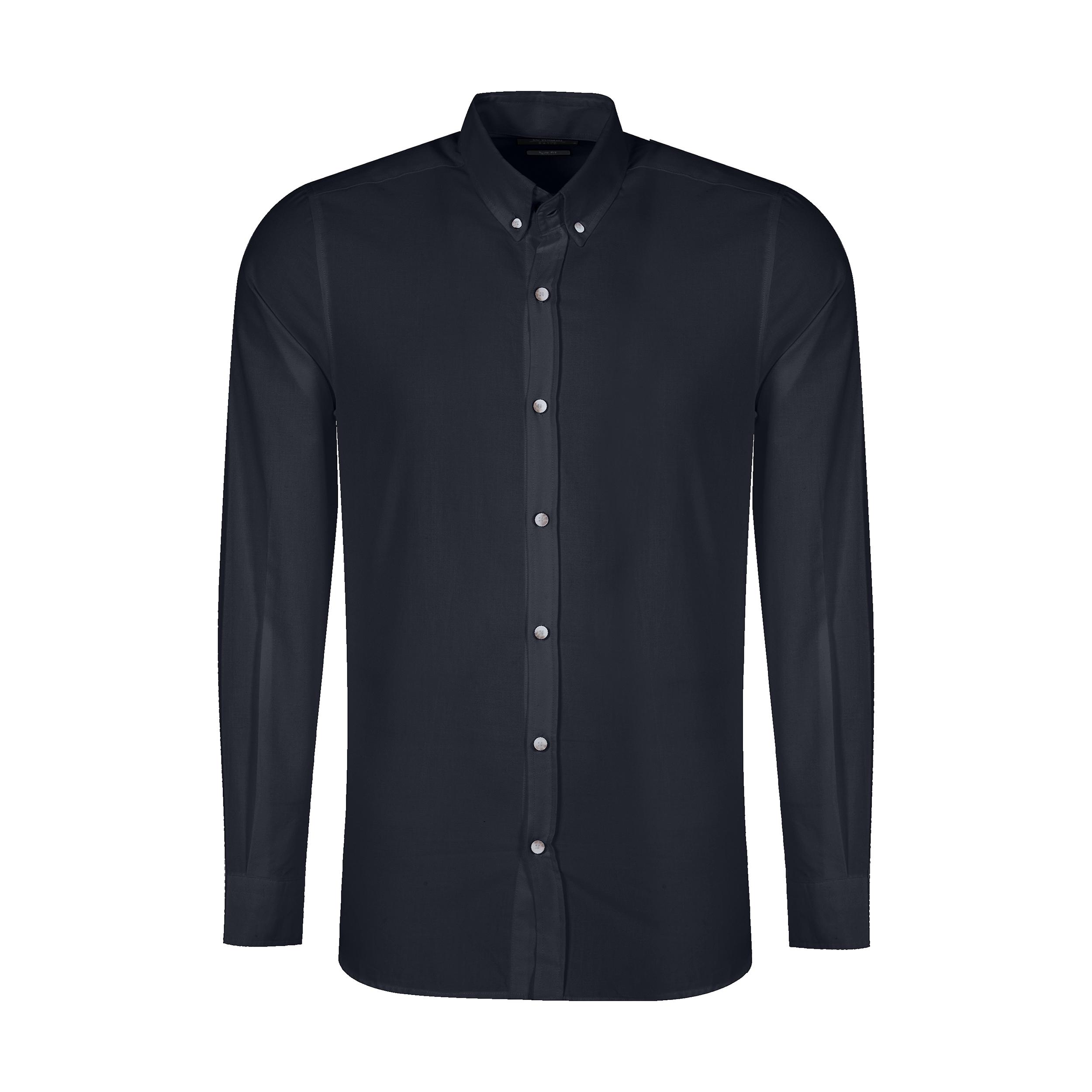 پیراهن آستین بلند مردانه ال سی وایکیکی مدل 0SA013Z8-HUC