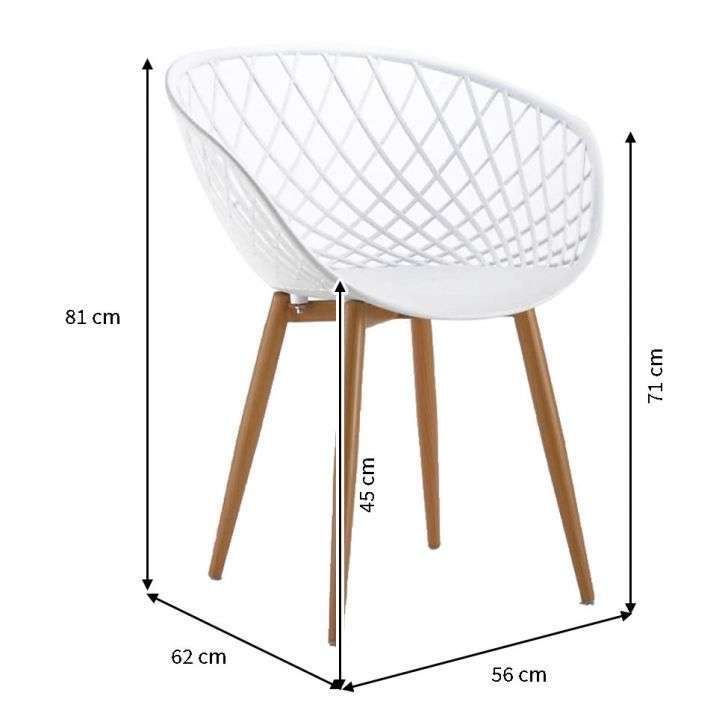 قیمت                      صندلی بنیزان مدل بامبو کد BM570S