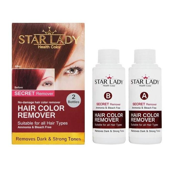 بی رنگ کننده مو استار لیدی مدل سیکرت حجم 200 میلی لیتر بسته 2 عددی