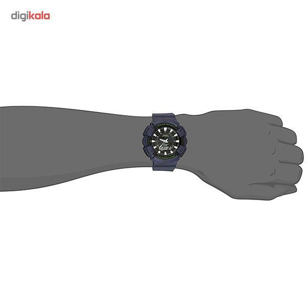 ساعت مچی عقربه ای مردانه کاسیو مدل AD-S800WH-2AVDF -  - 5