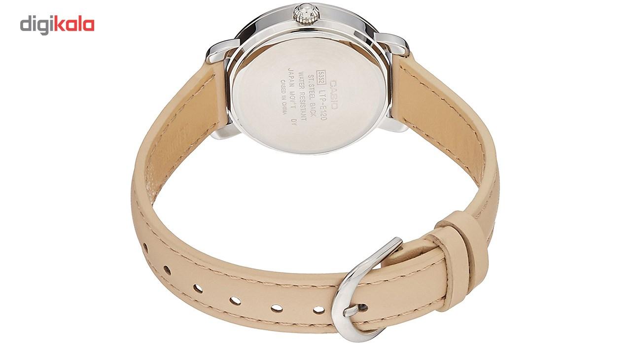 خرید                                      ساعت مچی عقربه ای زنانه کاسیو مدل LTP-E120L-7A1DF