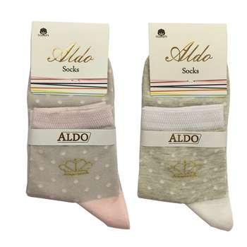 جوراب زنانه مدل AL3 مجموعه 2 عددی
