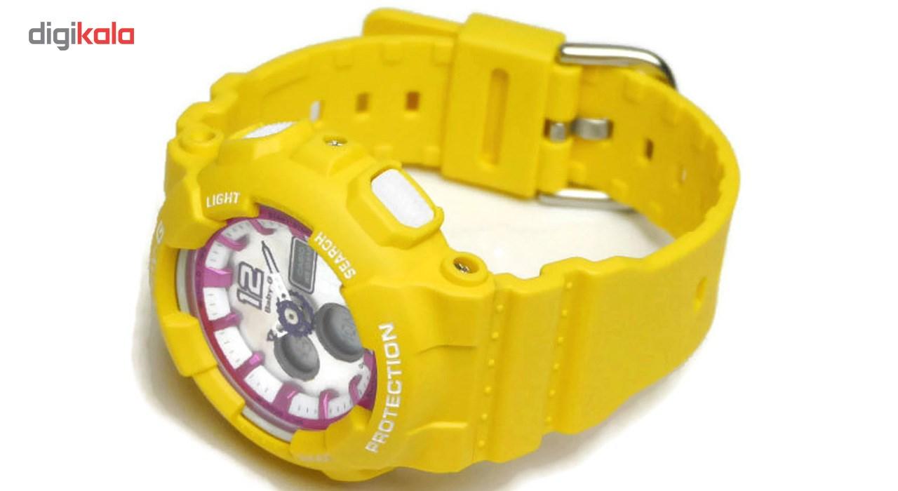خرید                                      ساعت مچی عقربه ای زنانه کاسیو مدل BA-120-9BDR