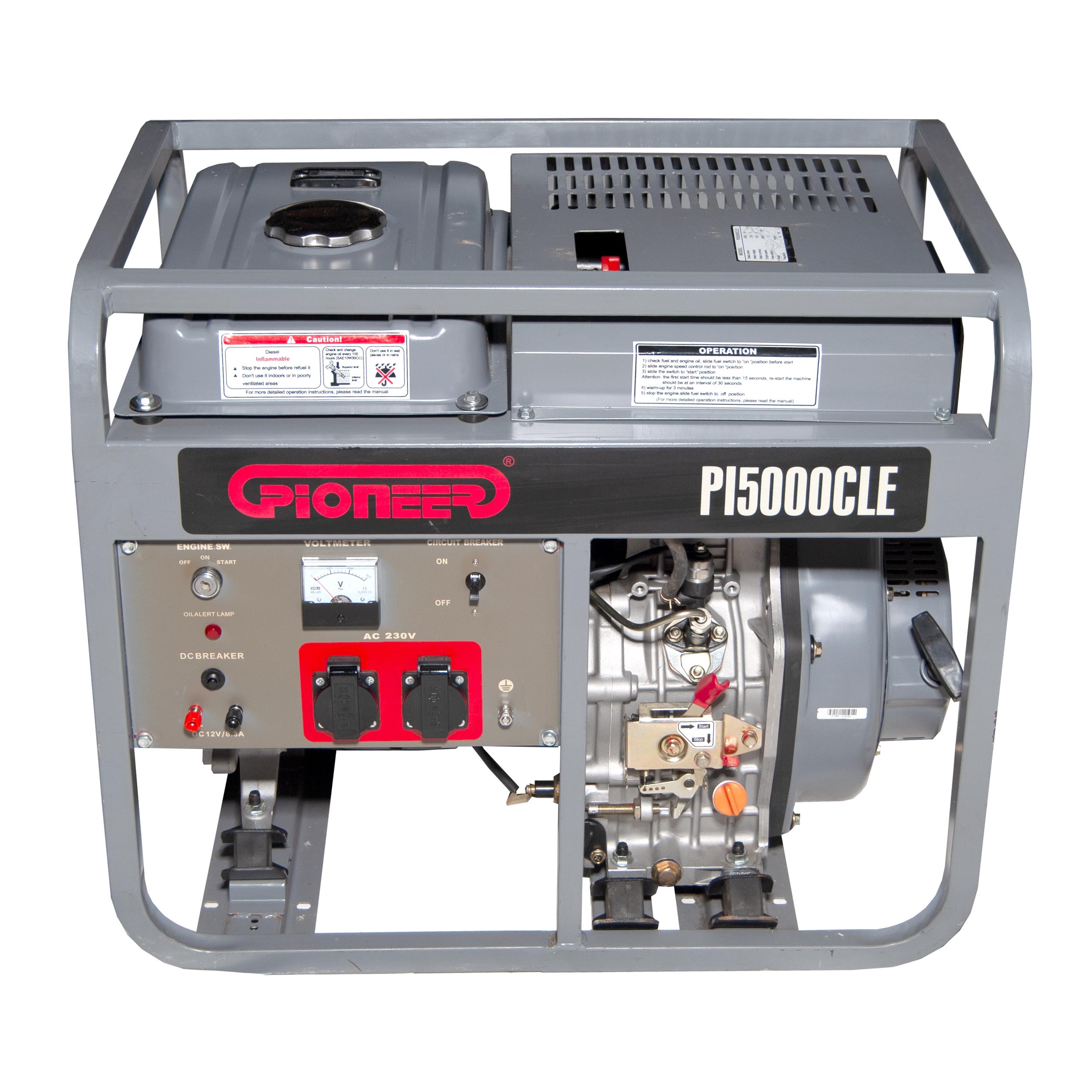 موتور برق پایونیر مدل PI5000CLE