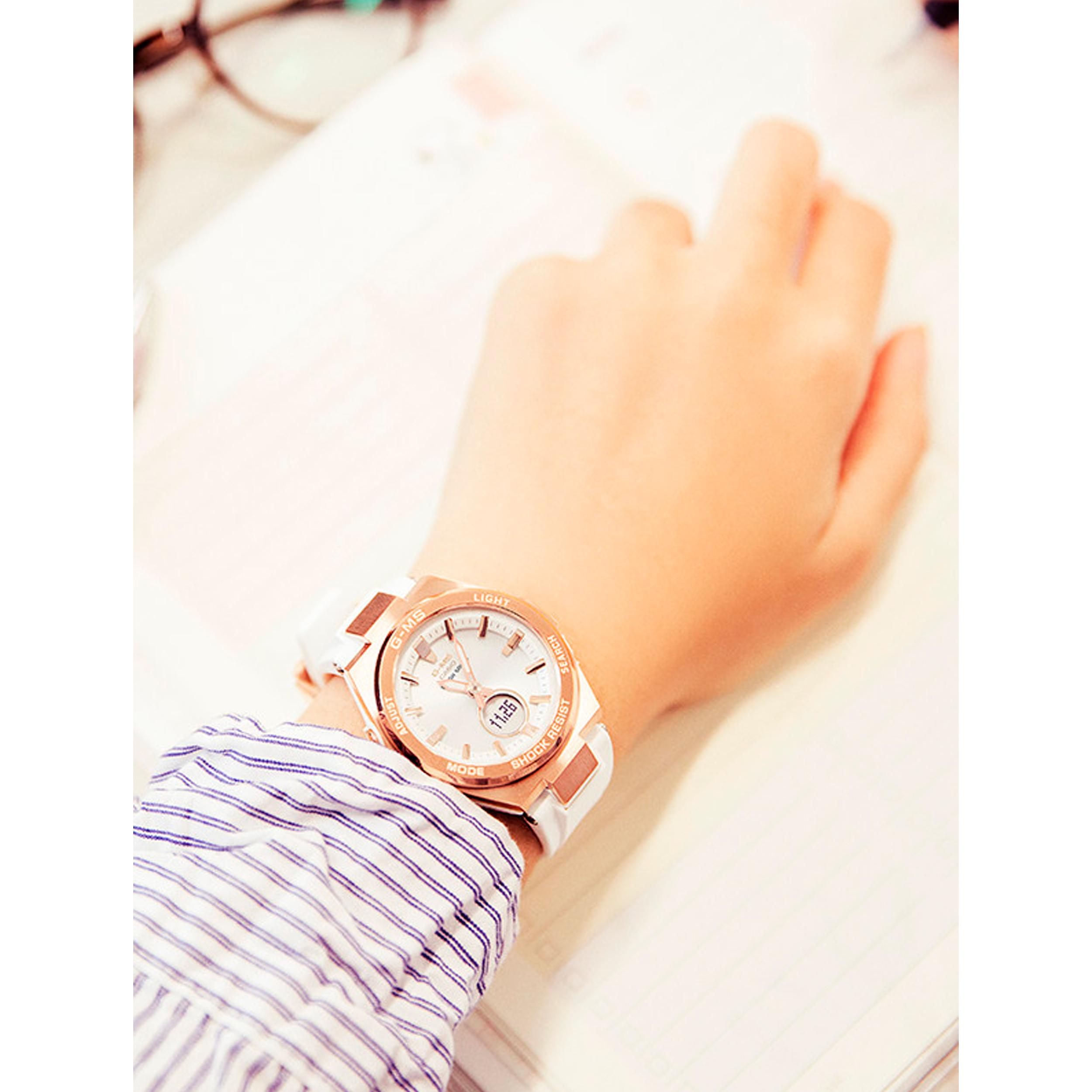 ساعت مچی عقربه ای زنانه کاسیو مدل MSG-S200G-4ADR              ارزان