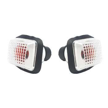 چراغ راهنما گلگیر خودرو آذرپارت کد 1227 مناسب برای پژو پارس بسته ۲ عددی