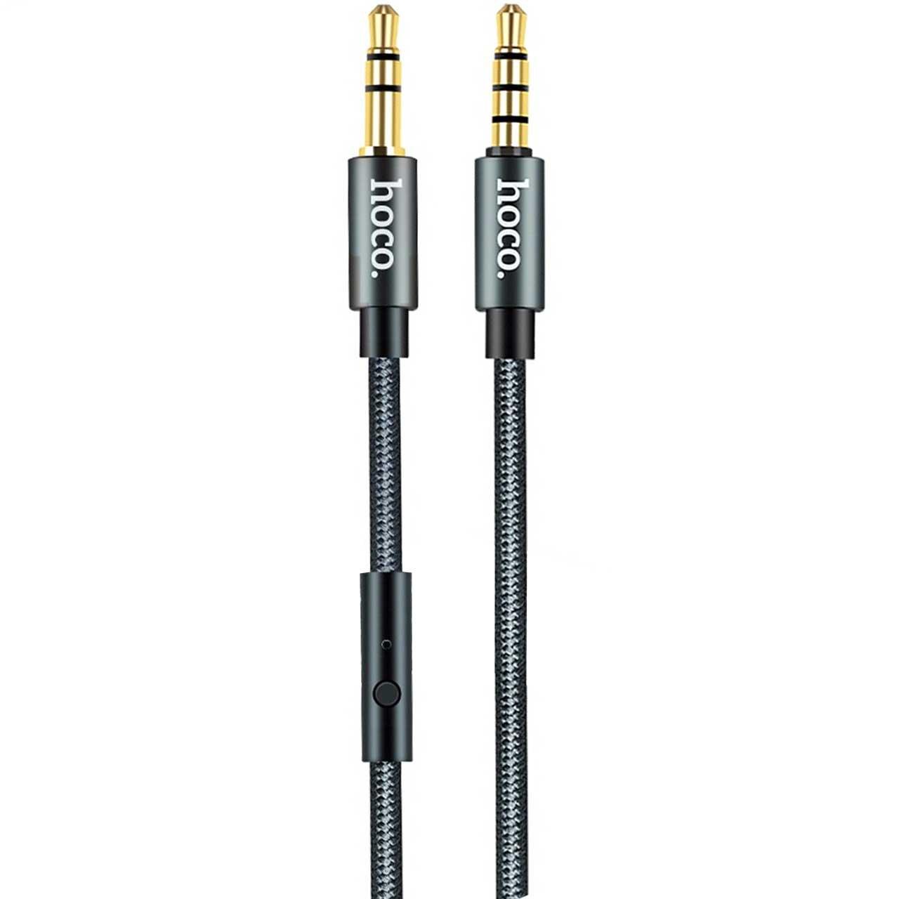 کابل انتقال صدا 3.5 میلی متری کنترل دار هوکو مدل UPA04 طول 1 متر