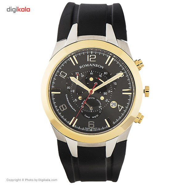 خرید ساعت مچی عقربه ای مردانه رومانسون مدل TL1261HM1CA31G | ساعت مچی