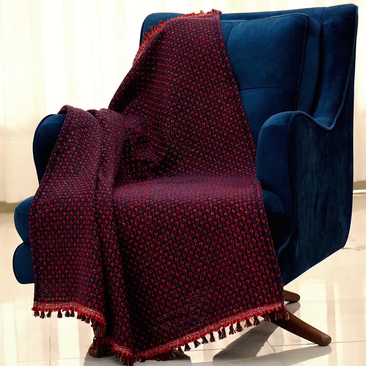 شال مبل و تخت مدل یاقوت سایز 120x150 سانتیمتر