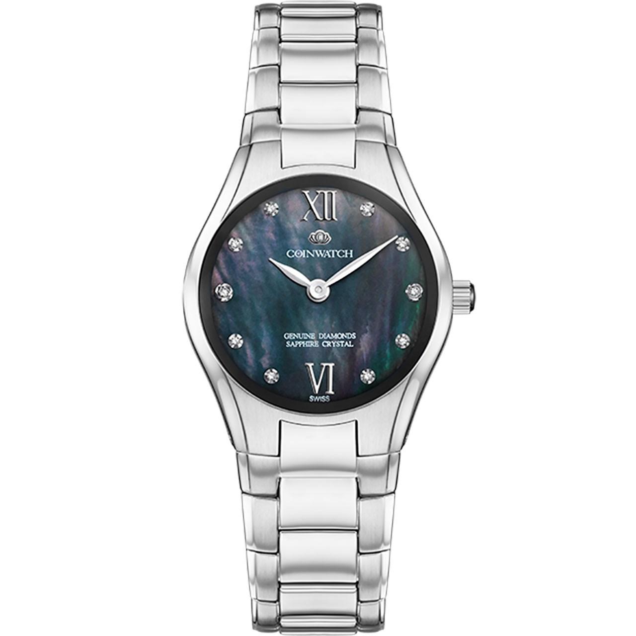 ساعت مچی عقربه ای زنانه کوین واچ مدل C168SBK