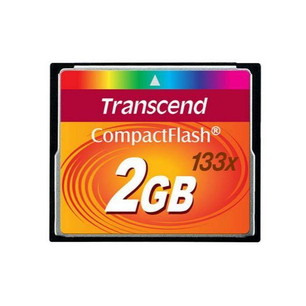کارت حافظه CF ترنسند مدل TS2GCF133 کلاس 2 استاندارد U1 سرعت 33Mbps ظرفیت 2 گیگابایت