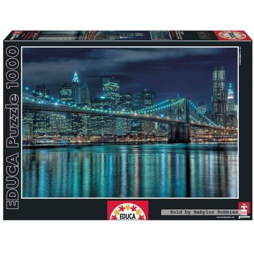 پازل 1000 تکه ادوکا مدل Manhattan At Night