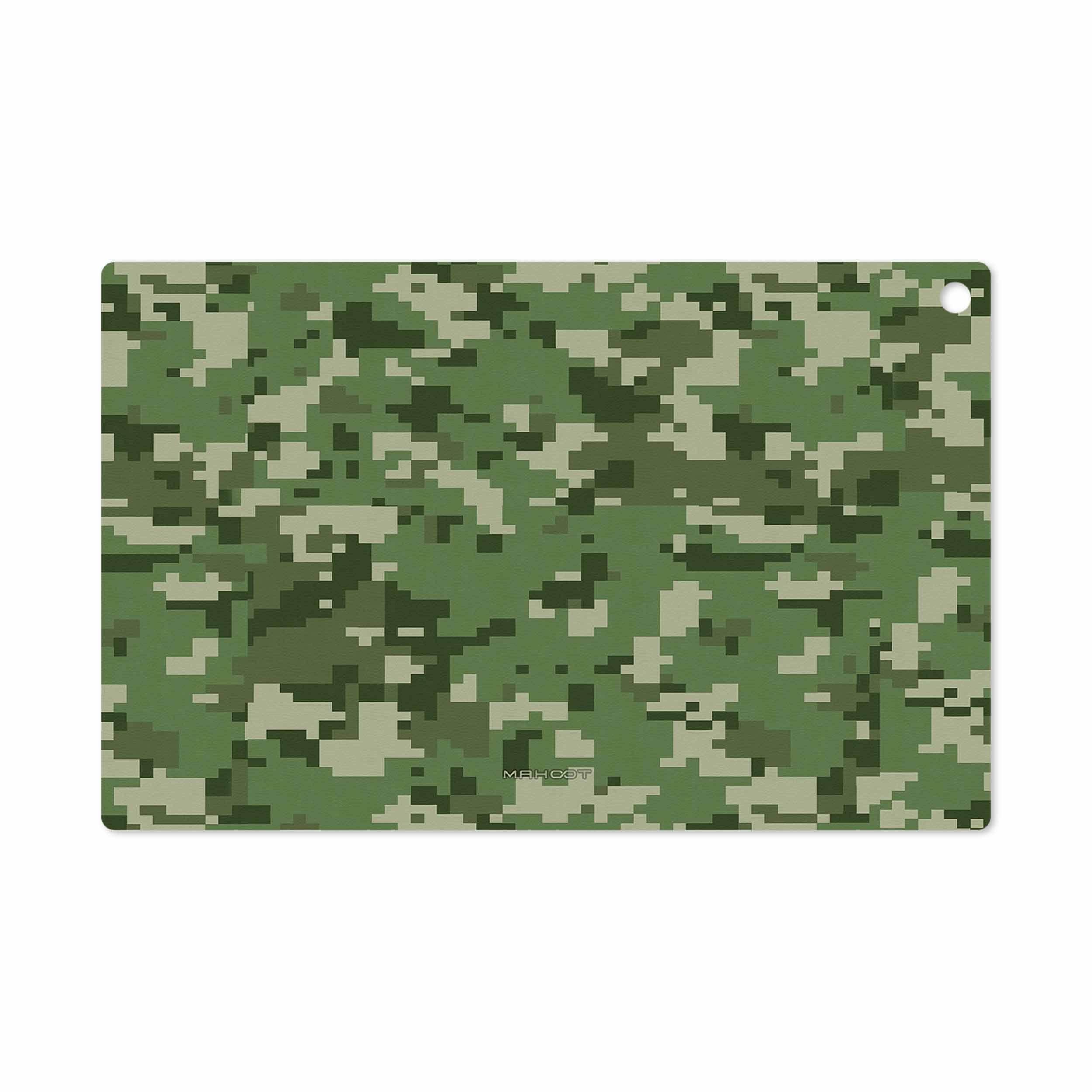 بررسی و خرید [با تخفیف]                                     برچسب پوششی ماهوت مدل Army-Green-Pixel مناسب برای تبلت سونی Xperia Z2 Tablet LTE 2014                             اورجینال