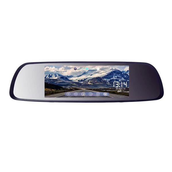آینه مانیتوردار و دوربین دنده عقب خودرو کد 700-DR
