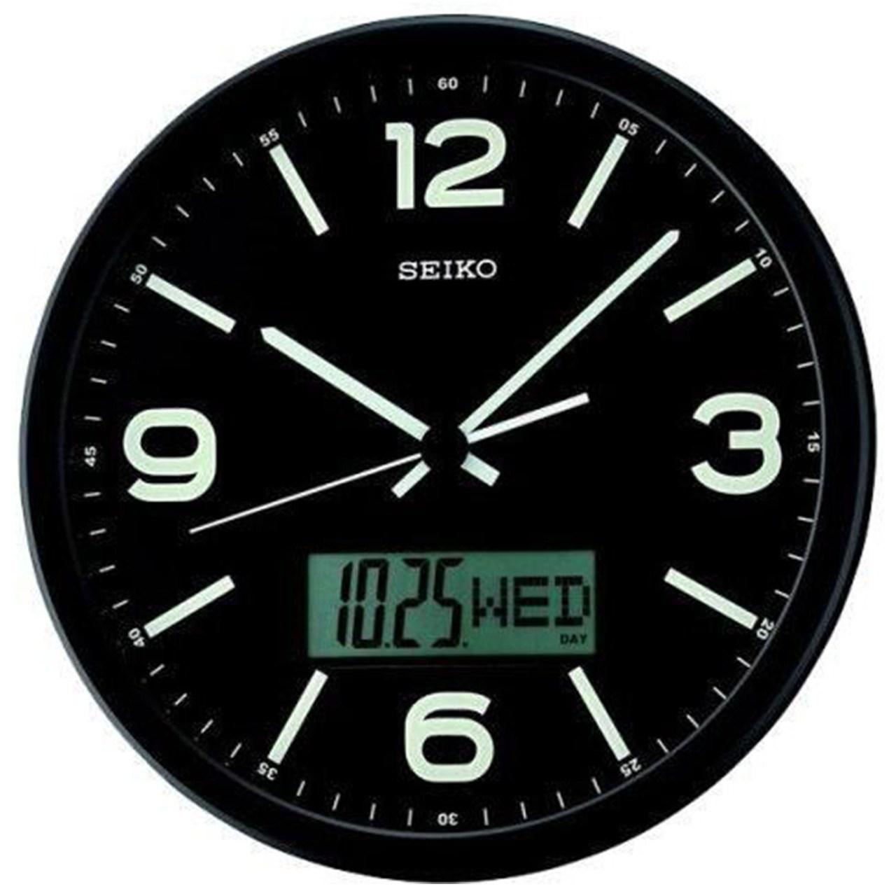 خرید ساعت دیواری سیکو مدل QXL010 | ساعت مچی