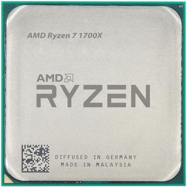 پردازنده مرکزی ای ام دی مدل Ryzen 7 1700X
