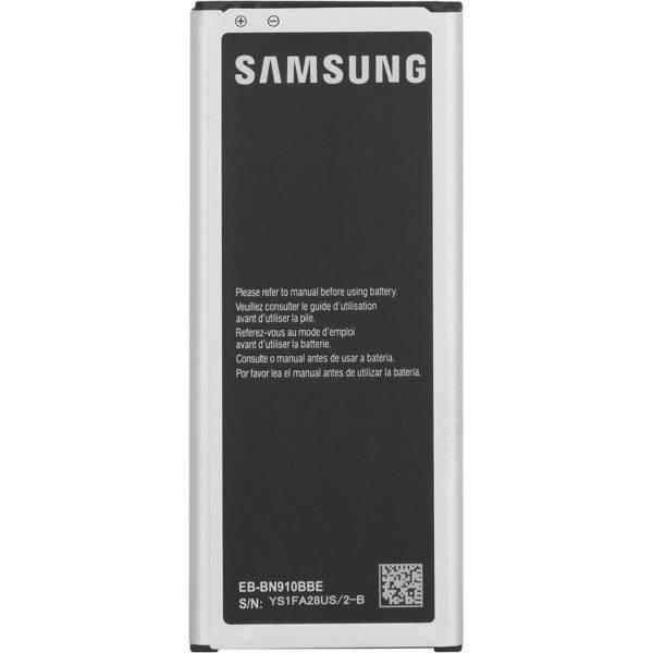 باتری موبایل مدل EB-BN910BBE ظرفیت 3220 میلی آمپر ساعت مناسب برای گوشی موبایل سامسونگgalaxy note 4              ( قیمت و خرید)