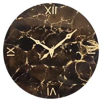 ساعت دیواری طرح سنگ مصنوعی کد Cio7d401