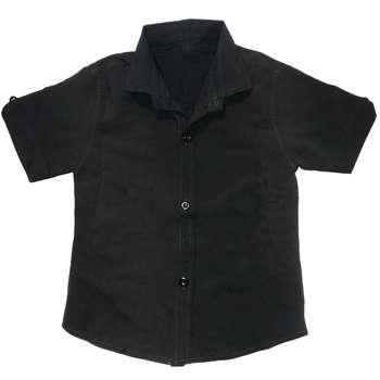پیراهن پسرانه کد 3453 رنگ مشکی