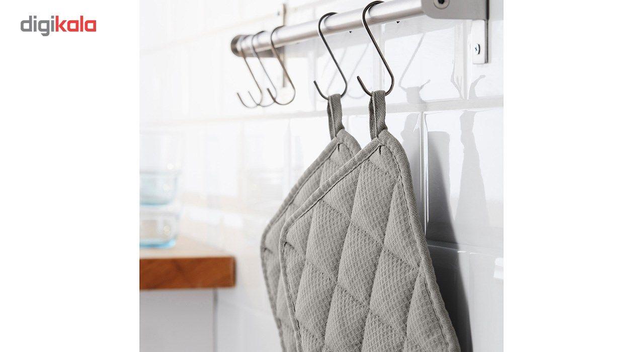 دستگیره آشپزخانه ایکیا مدل Iris - بسته 2 عددی main 1 3