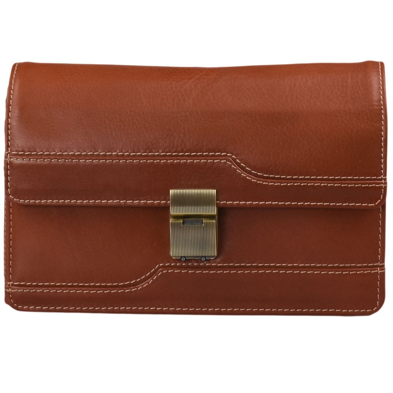 کیف دستی چرم طبیعی کهن چرم مدل DB33