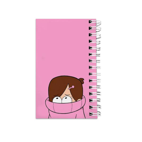 دفترچه یادداشت مدل to do list طرح انیمیشن آبشار جاذبه کد 2665423