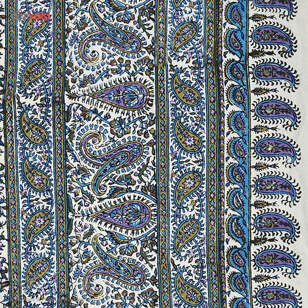 خرید                      سفره قلمکار ممتاز اثر عطریان طرح 15 سایز 135 × 200 سانتی متر