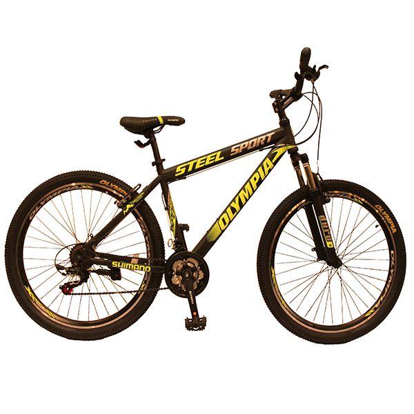 دوچرخه کوهستان المپیا مدل SPORT STEEL سایز 27.5