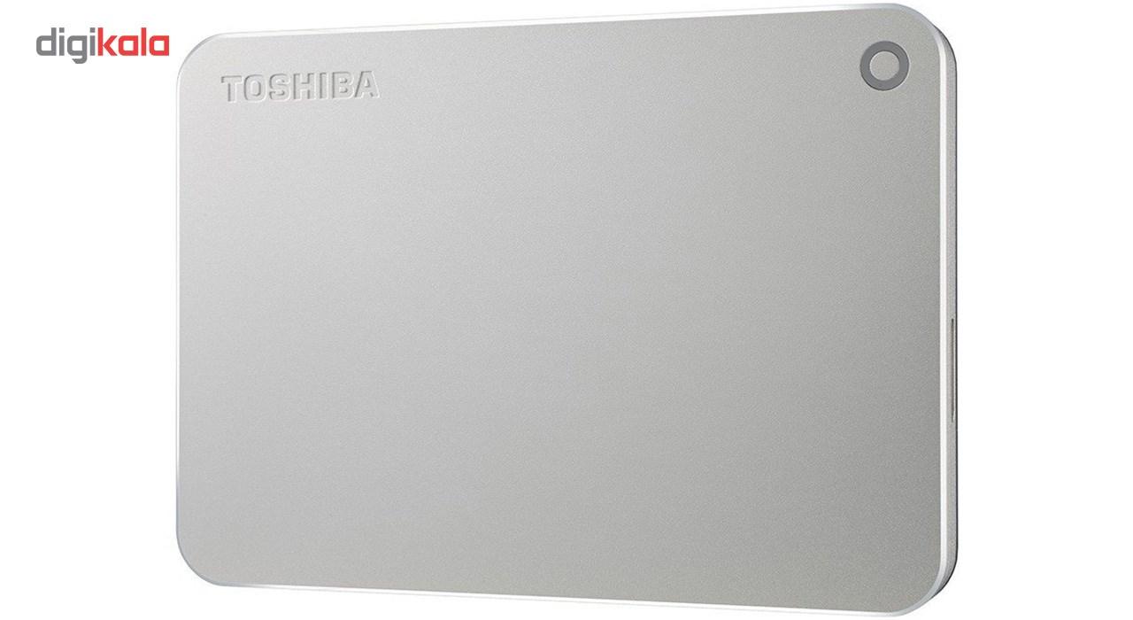 هارد دیسک اکسترنال توشیبا مدل CANVIO PREMIUM ظرفیت 2 ترابایت
