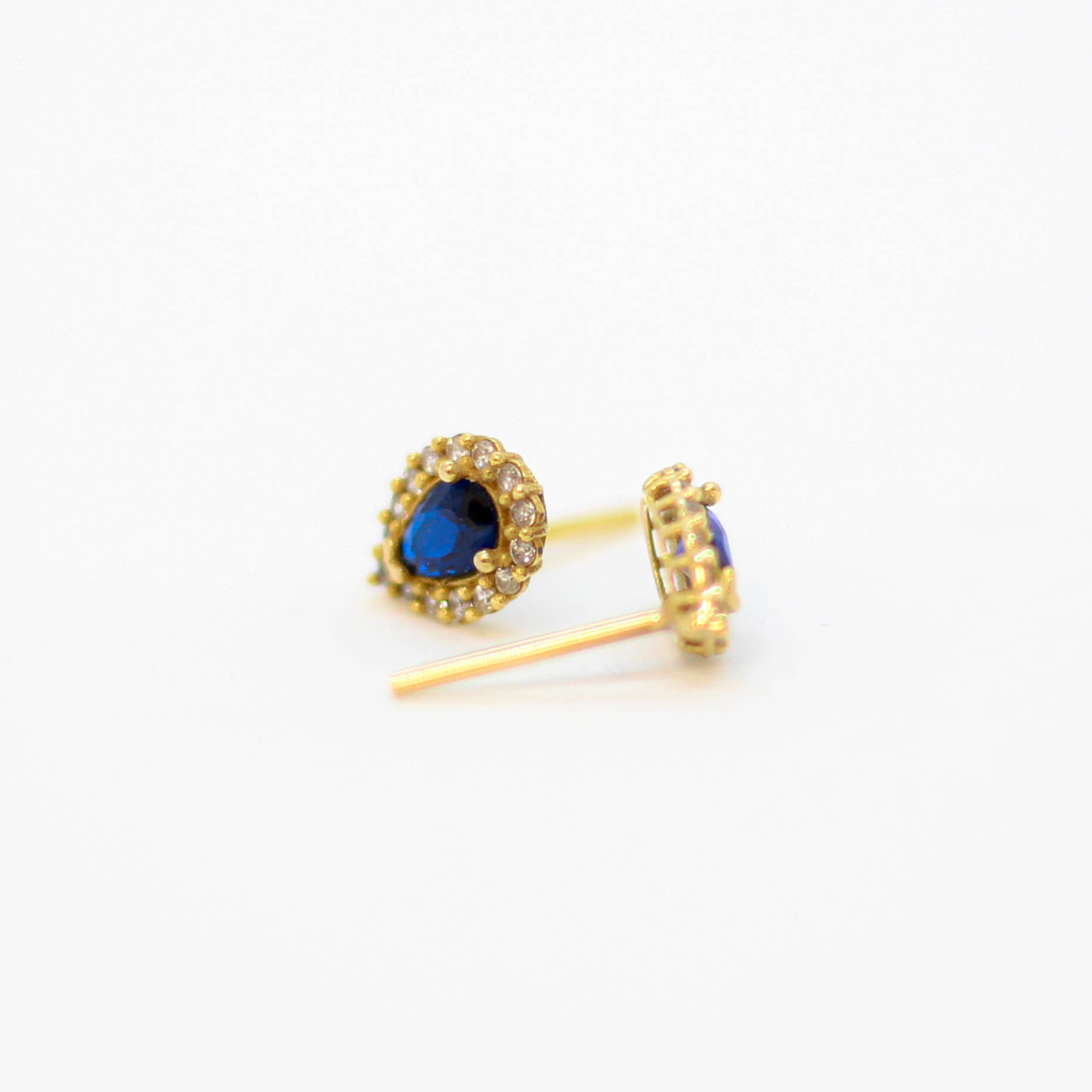 گوشواره طلا 18 عیار زنانه مدل D0083