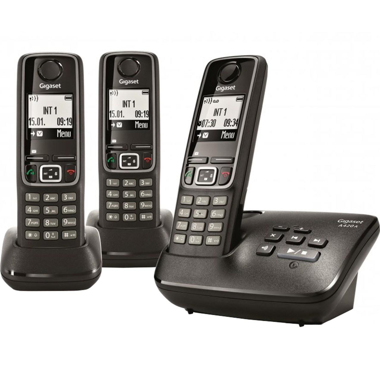 تلفن بیسیم گیگاست مدل  a420a trio