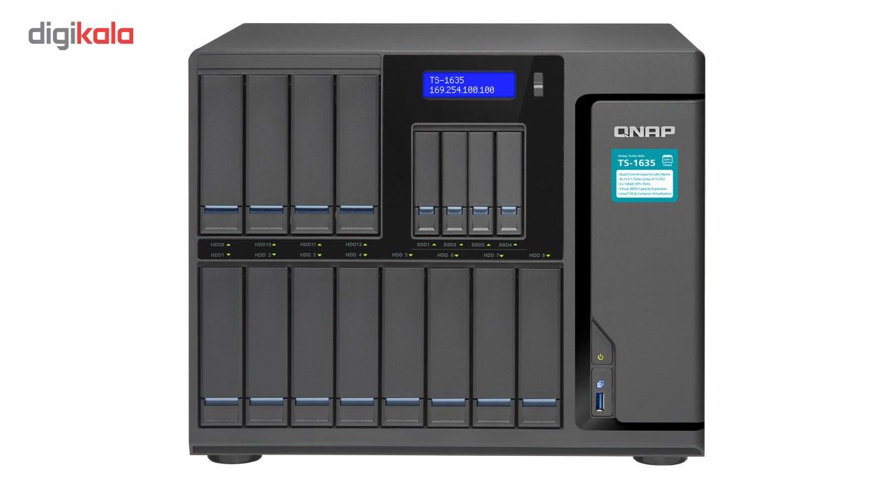 ذخیره ساز تحت شبکه کیونپ مدل TS-1635-4G