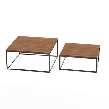 میز جلو مبلی کد 19354 مجموعه 2 عددی