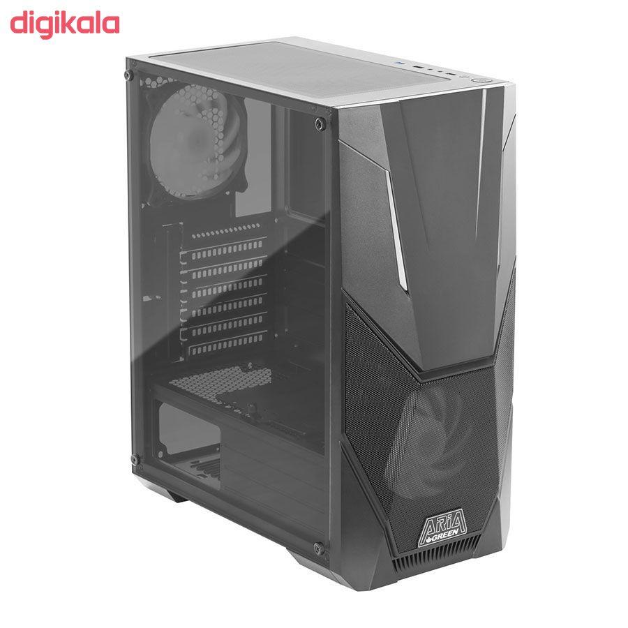کیس کامپیوتر گرین مدل Aria main 1 3