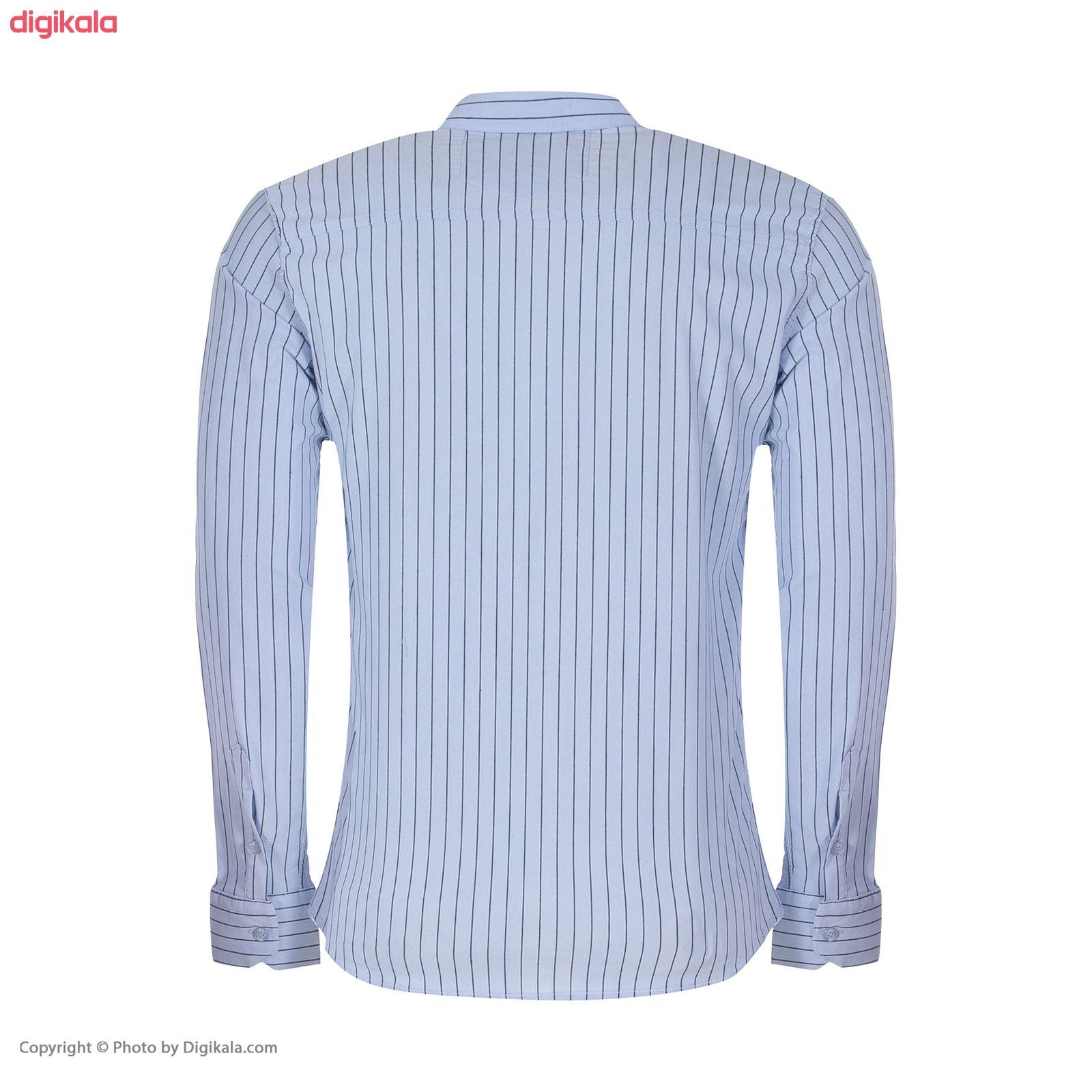 پیراهن مردانه پیکی پوش مدل M02347 main 1 2