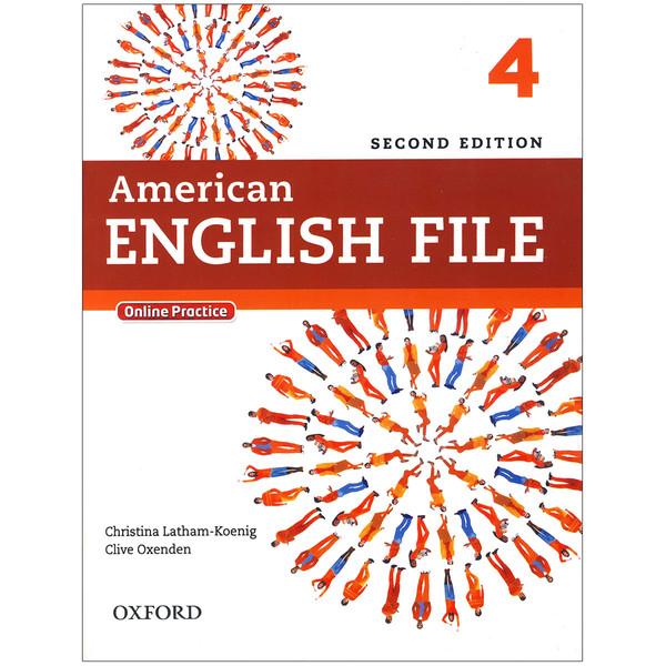 کتاب American English File 4 اثر جمعی از نویسندگان انتشارات زبان مهر