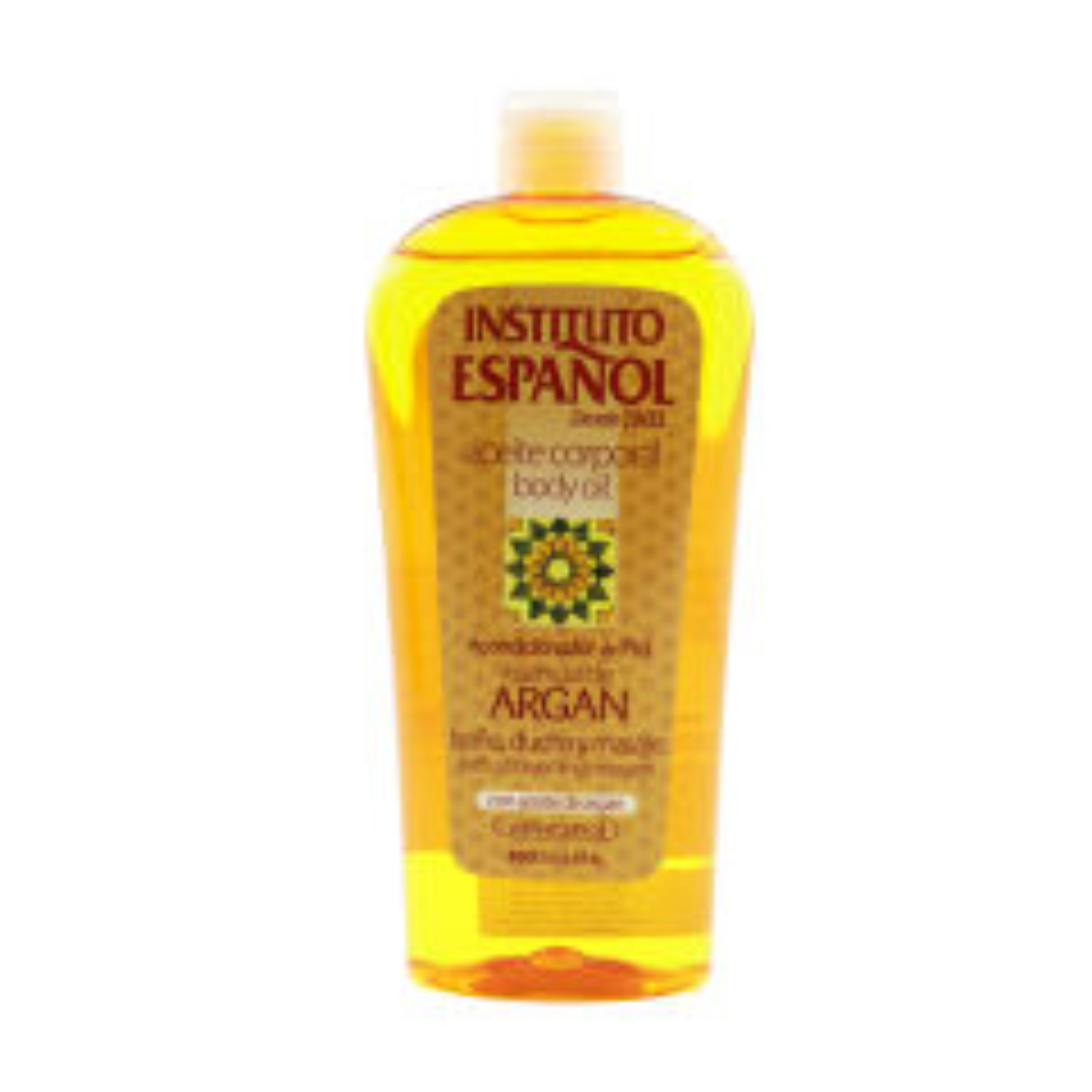 روغن بدن انستیتو اسپانول مدل argan oil حجم 400 میلی لیتر