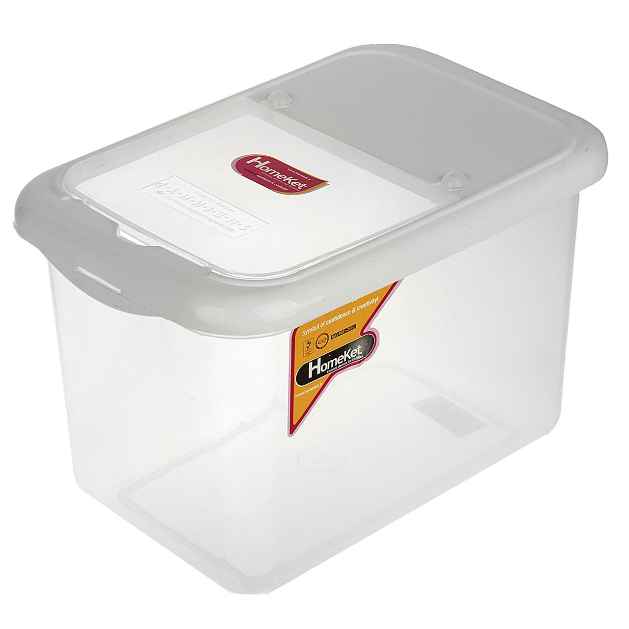 ظرف برنج هوم کت کد 0723 - ظرفیت 10 کیلوگرم