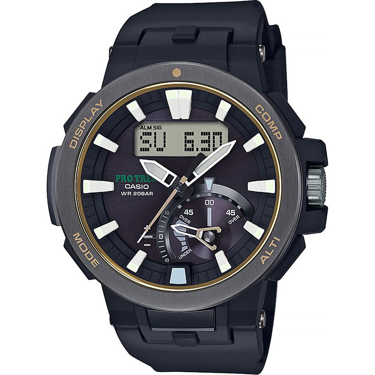 ساعت مچی عقربه ای مردانه کاسیو پروترک مدل PRW-7000-1BDR