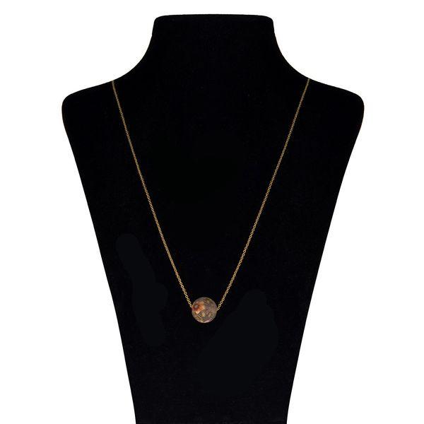 گردنبند طلا 18 عیار ماهک مدل MM0398