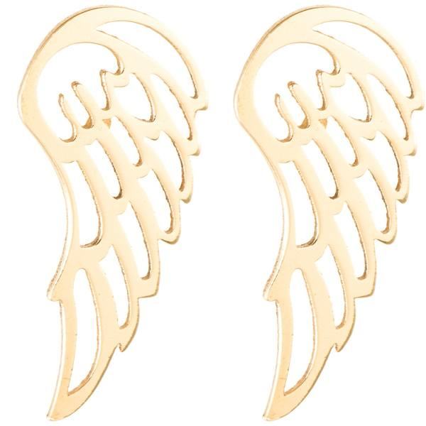 گوشواره طلا 18 عیار رزا مدل EG05