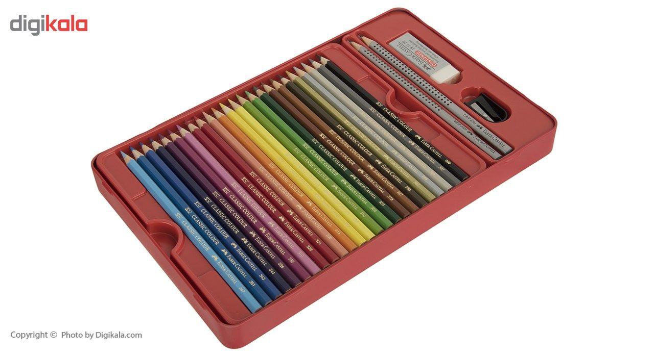 مداد رنگی 48 رنگ فابر-کاستل مدل Sketch main 1 4