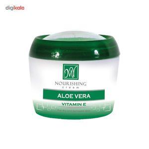 کرم نرم کننده دست و صورت آلوئه ورا کاسه ای مای حجم 200 میلی لیتر  MY Aloe Vera Moisturizing Cream 20
